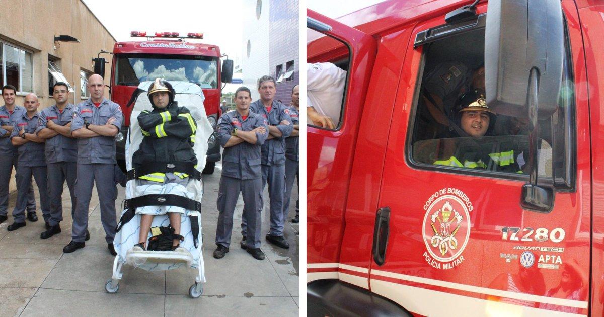 thumbnail5gou.png?resize=1200,630 - Jovem tetraplégico realiza sonho de ser bombeiro por um dia