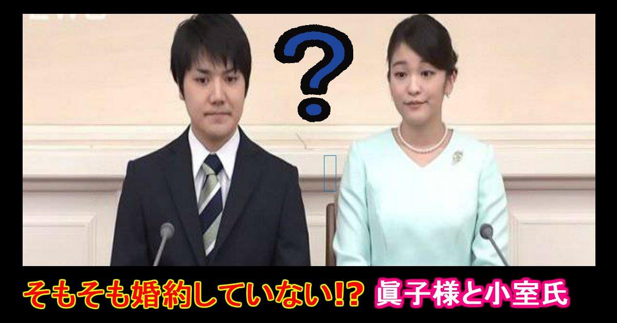 unnamed file 30 - 眞子さまと小室さんは実は「婚約」していなかった?