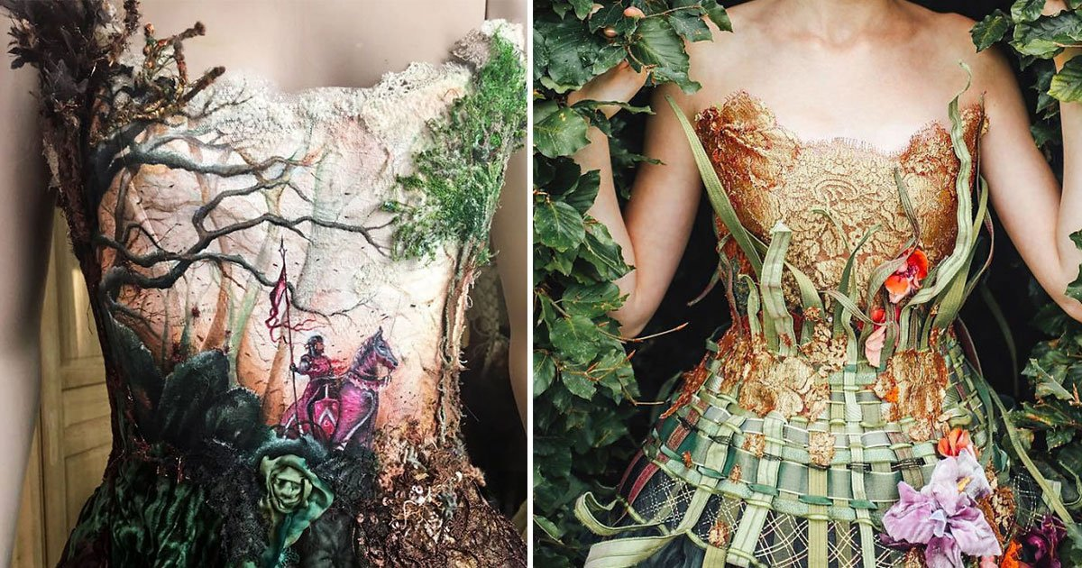 untitled 1 2.jpg?resize=300,169 - This French Designer Creates One-Of-A-Kind Dresses, You Will Want One For Yourself For Sure