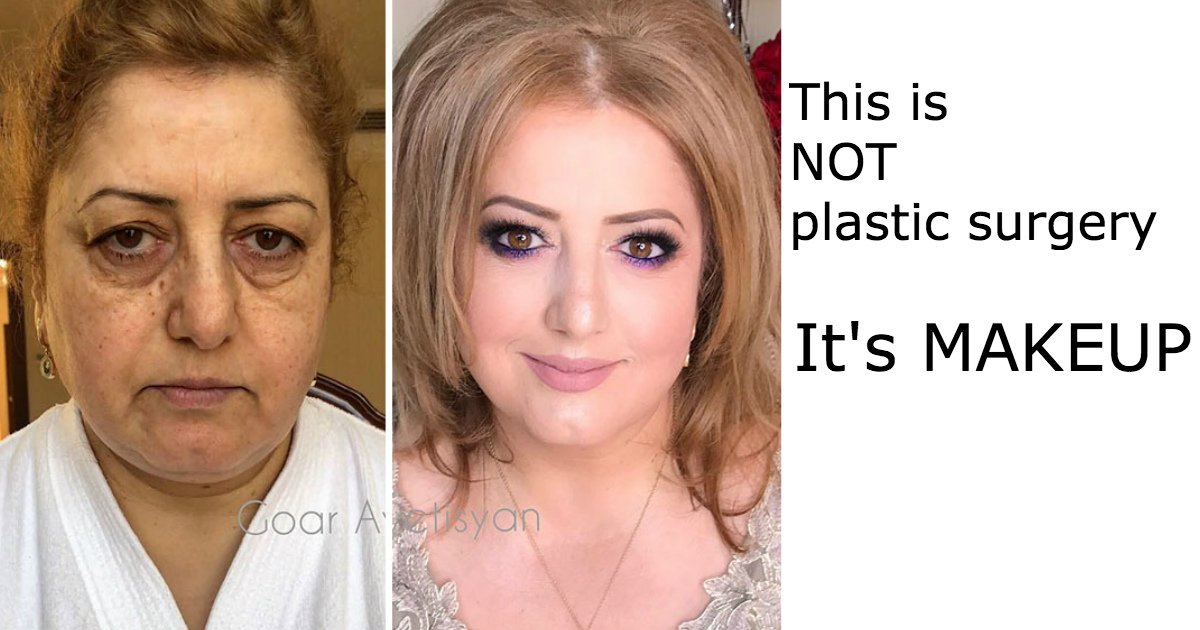 untitled 1 24.jpg?resize=636,358 - These 30 Examples Show How Skillful Makeup Worked Some Amazing Magic On These Women