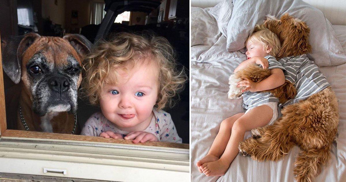 untitled 1 45.jpg?resize=1200,630 - 20 fotos que mostram que seu filho precisa de um cachorro como melhor amigo