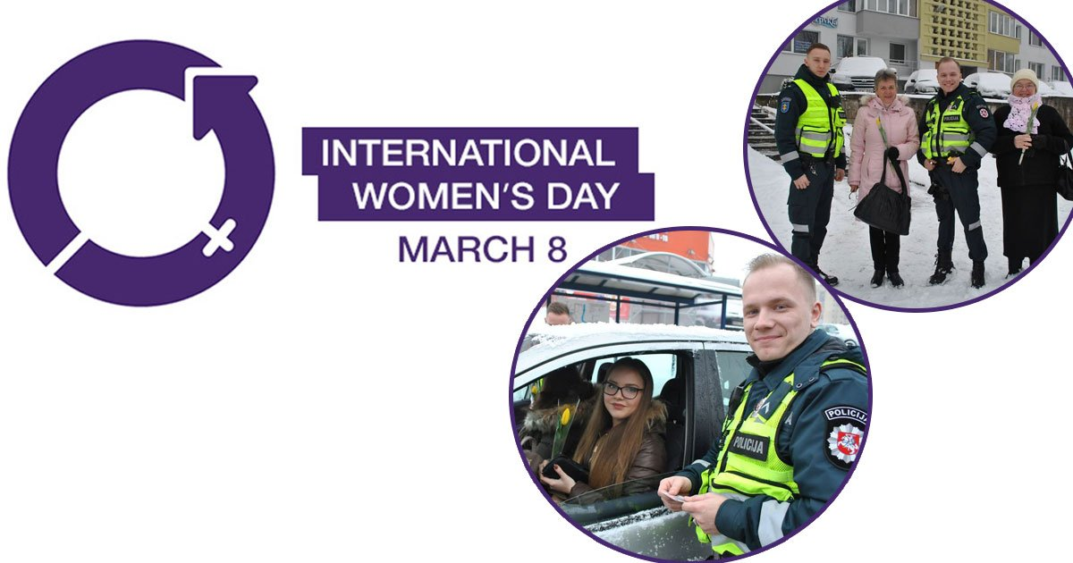 untitled 1 46.jpg?resize=1200,630 - What Lithuanian Police Officers Did For Women On International Women's Day Will Bring A Broad Smile On Your Face