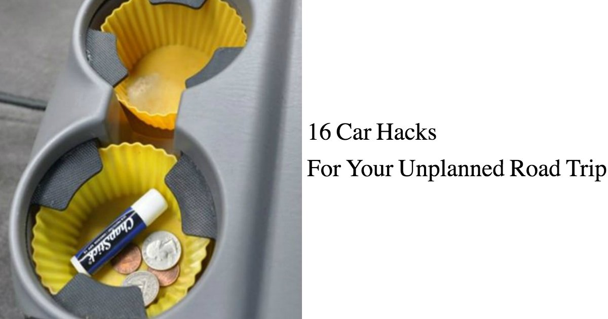 untitled 1 54 - 16 Life-saving Car Hacks For Your Unplanned Road Trip