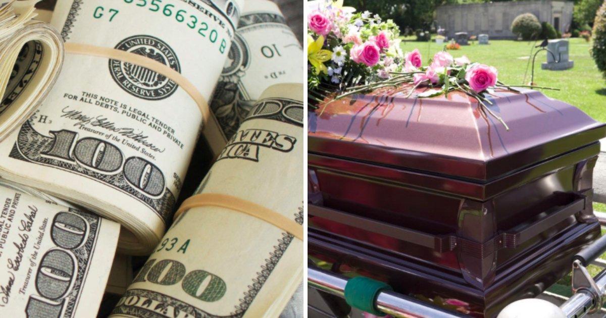 untitled 1 67.jpg?resize=412,232 - Marido hace prometer a su esposa que enterrará todo su dinero junto a él en el ataúd, pero ella puede eludir la situación brillantemente
