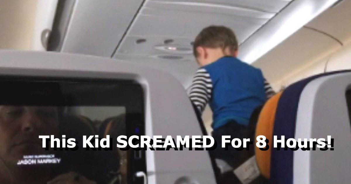 untitled 1 94.jpg?resize=636,358 - Long Distance Flight Becomes Unbearable As Child Screams Throughout The WHOLE Eight-Hour Trip
