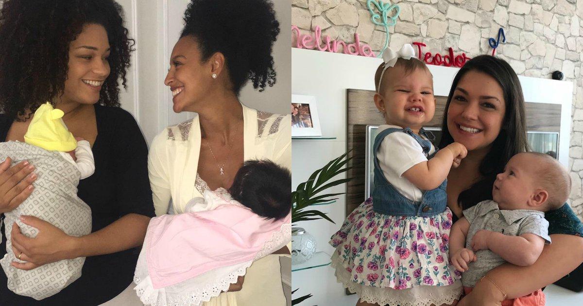 untitled 5 - Fotos de celebridades que demonstram a realidade de ser mãe