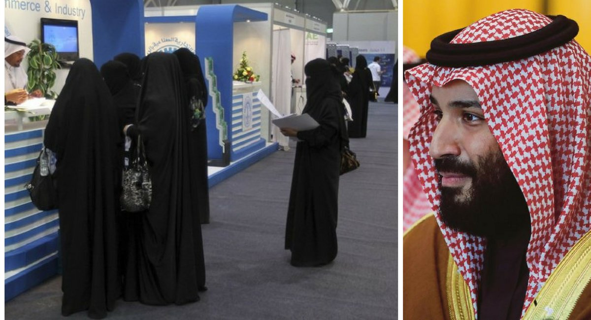 untitled design 25 1.png?resize=300,169 - Saudi Women Can Choose Whether To Cover Their Head With Abaya Or Not FROM NOW