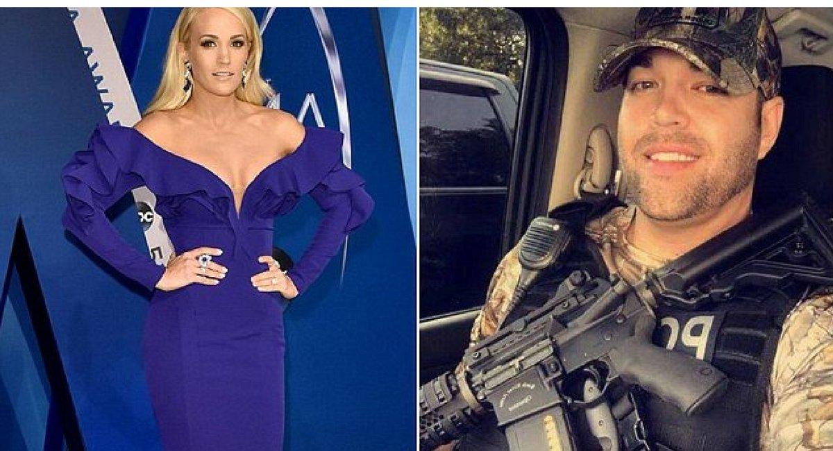 untitled design 9.png?resize=1200,630 - Carrie Underwood fait un don de 10 000 $ à un policier blessé qui était son ami d'enfance