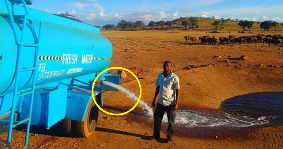 1 219.jpg?resize=1200,630 - 매일 물 '1만 리터' 가져다 야생에 뿌린 남자가 만들어낸 결과