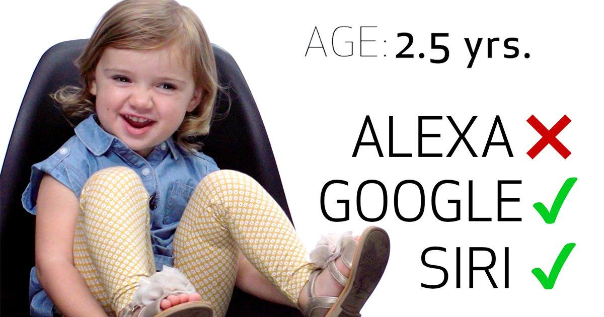 10ec8db8eb84ac.jpg?resize=1200,630 - Siri, Google Home, Alexa or Cortana? 8 Kids Test Their Speeches on the AIs to find the Best One