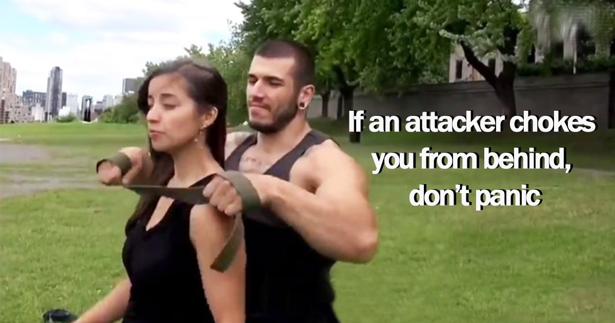 10ec8db8eb84acebb984eb90b4 - This Simple Defense Trick Will Help You Combat If An Attacker Chokes You From Behind