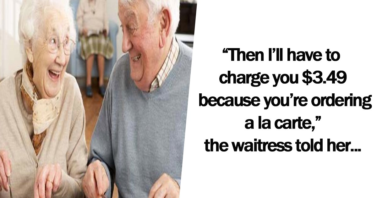 1ec8db8eb84ac.jpg?resize=574,582 - Waitress Refuses to Serve Breakfast Without Eggs To Elderly Couple, But What This Senior Does In Response Is Genius.