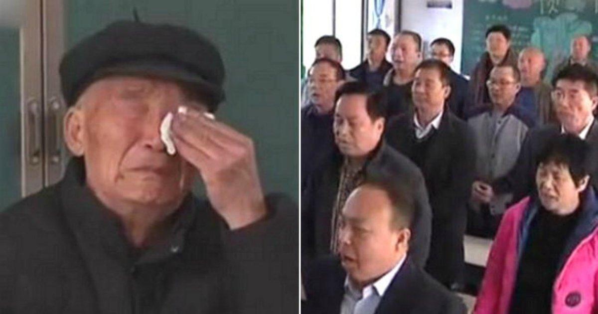 2 171 - '암 선고'받은 선생님의 '생일 축하'를 위해 모인 전국의 제자들 (영상)