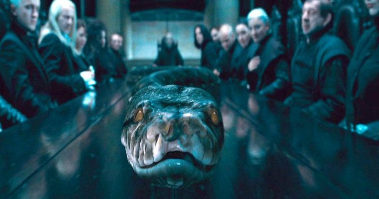 """33 2 - """"Animais Fantásticos 2"""" pode ter origem de Nagini, cobra de Voldemort"""