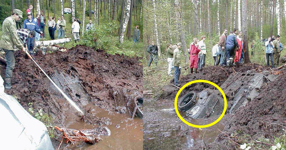 3ec8db8eb84ac 6.jpg?resize=300,169 - Un garçon découvre une relique de la Seconde Guerre mondiale engloutie dans un lac.