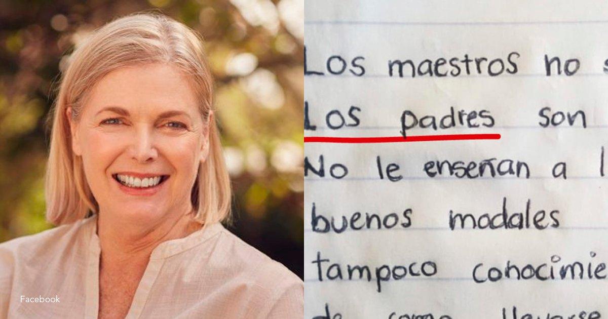 """4 tem.png?resize=1200,630 - Se hizo viral la carta de una profesora jubilada donde dice que """"los padres son el problema"""""""