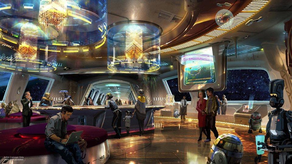 """Hotel de Star Wars vai contar com cenário temático desde a """"saída da Terra"""""""