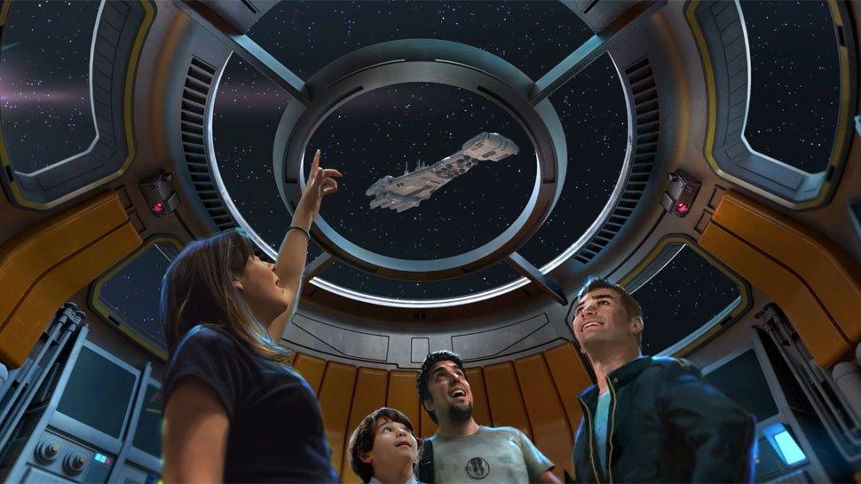 Imersão ao ambiente espacial do filme deve atrair até curiosos que não gostam da saga