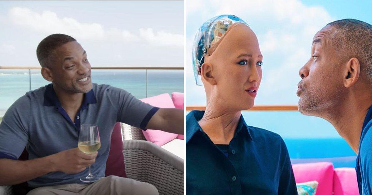 8ec8db8eb84ac 4 - Will Smith vai a um encontro com uma robô chamada Sophia