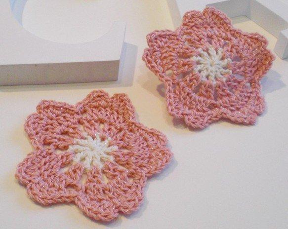 かぎ編み コースター에 대한 이미지 검색결과