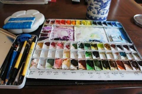 水彩画 道具에 대한 이미지 검색결과