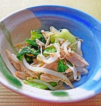 青梗菜とささみのレモンナムル에 대한 이미지 검색결과