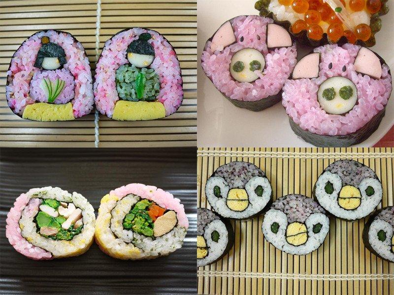 飾り巻き寿司弁当에 대한 이미지 검색결과