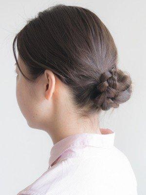 シニヨン 三つ編み에 대한 이미지 검색결과