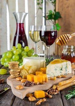 치즈, 치즈 플레이트, 포도주, 스낵, 요리법, 영양, 음식, 전채