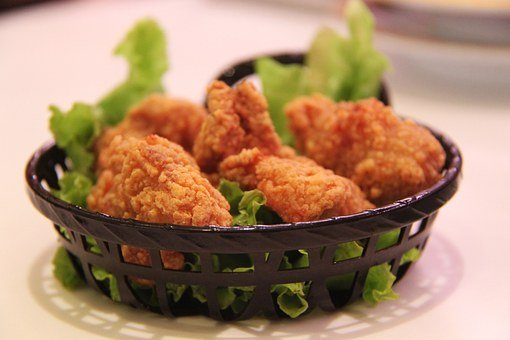 후 라 이드 치킨, 닭고기, 튀김, 우두둑 소리나는, 가금류, 고기