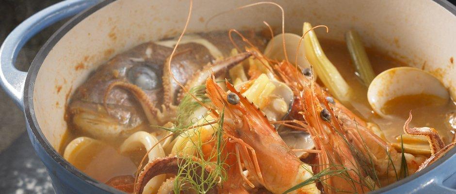 バーミキュラ サフラン風味の海の幸の軽い煮込み에 대한 이미지 검색결과
