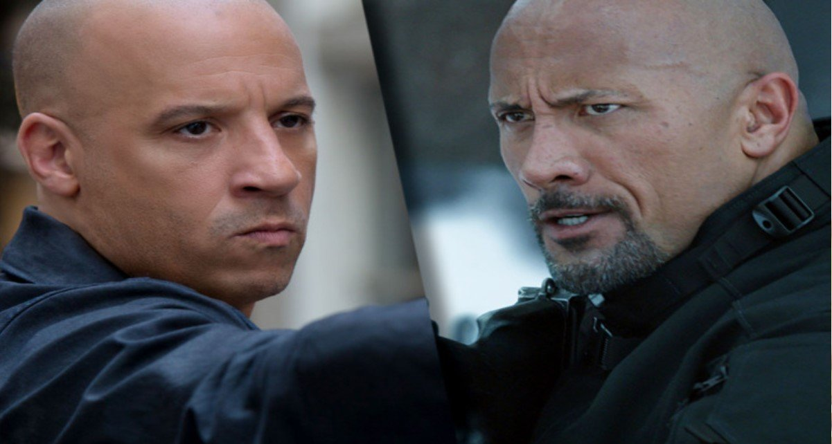 aa copy 2 - Dwayne Johnson Confirms That He And Vin Diesel Never Did A Scene Together While Filming The Fate Of The Furious