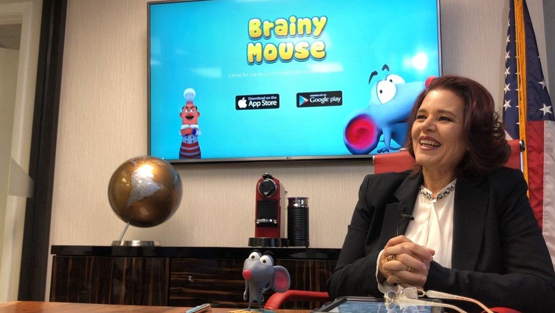 anasarrizo  presidentebrainymousefoundation.jpg?resize=412,232 - Brasileira lança aplicativo que ajuda na alfabetização de crianças com autismo