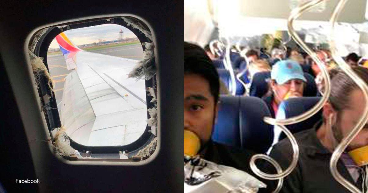 avion - Una mujer falleció luego de haber sido succionada por la ventana del avión