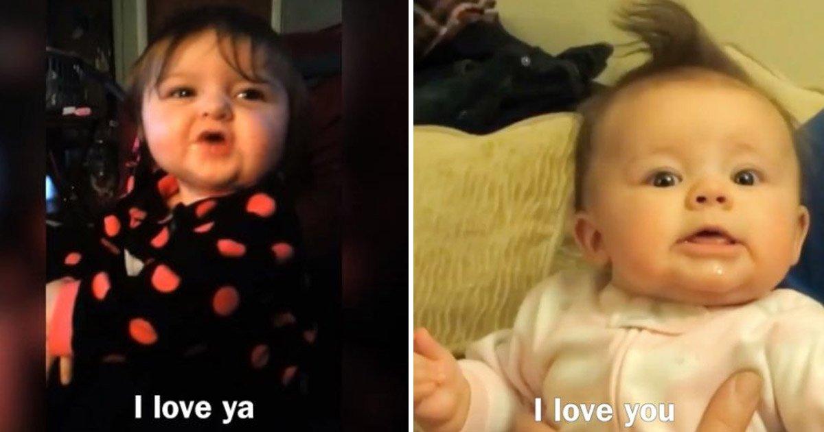babies.jpg?resize=300,169 - Vídeo de bebês reagindo a 'eu te amo' de maneiras adoráveis