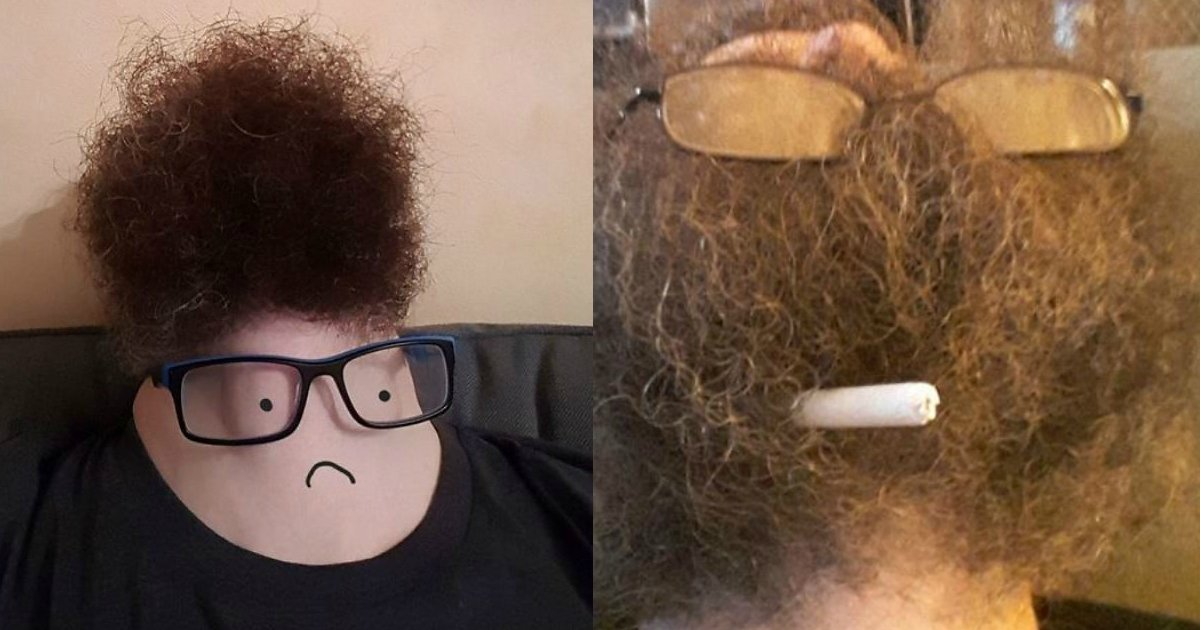 bearded men - Hilarious Pictures Of Bearded Men Looking Straight Up – Results Are Disturbing!