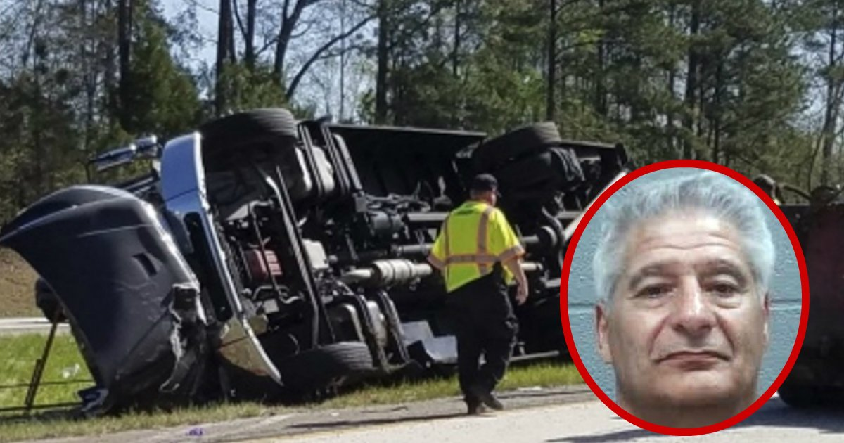 bus accident - Master Golf Fans Hurt After Bus Overturns On Interstate