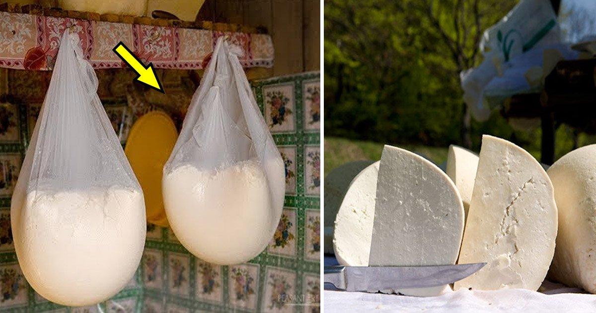 cheese.jpg?resize=412,232 - Cette fabrication de fromage de brebis traditionnel roumain vous mettra l'eau à la bouche