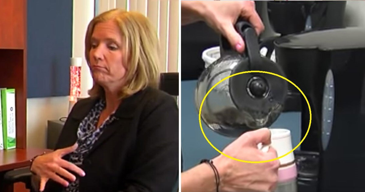 coffee - Mom Discovers The Reason Behind Her Every Day Sickness When She Opens Her Coffee Machine