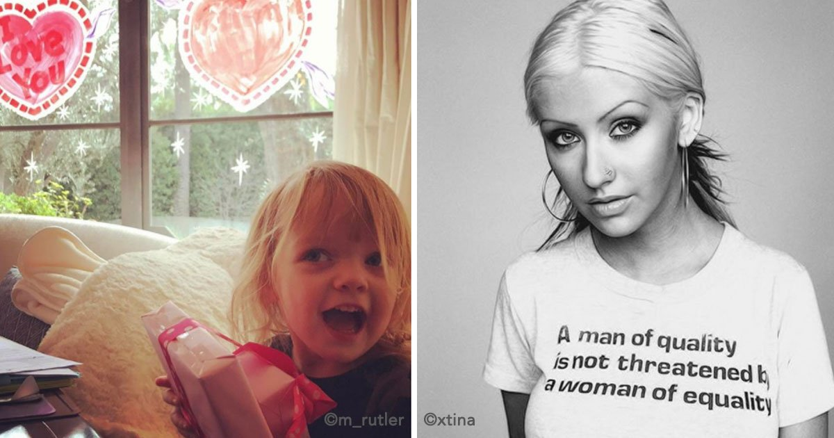 cover 6.jpg?resize=300,169 - La Hija De Christina Aguilera Es Idéntica A Su Madre Y Tiene A Todos Enamorados