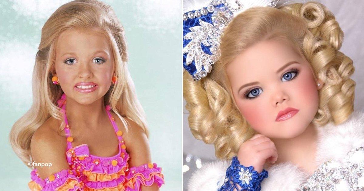 cover22 tiaras.jpg?resize=636,358 - As meninas modelos que aos cinco anos de idade aplicam botox ou implantes