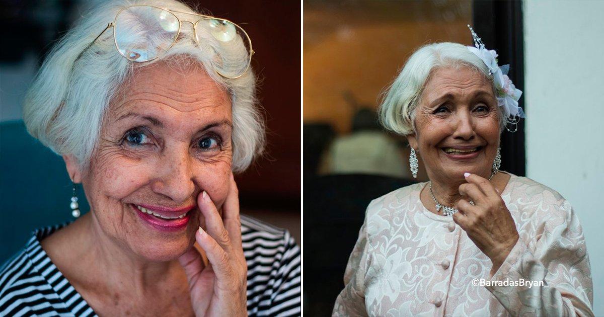 cover22abu - Nieto cumple el sueño de su abuelita y la convierte en una hermosa modelo