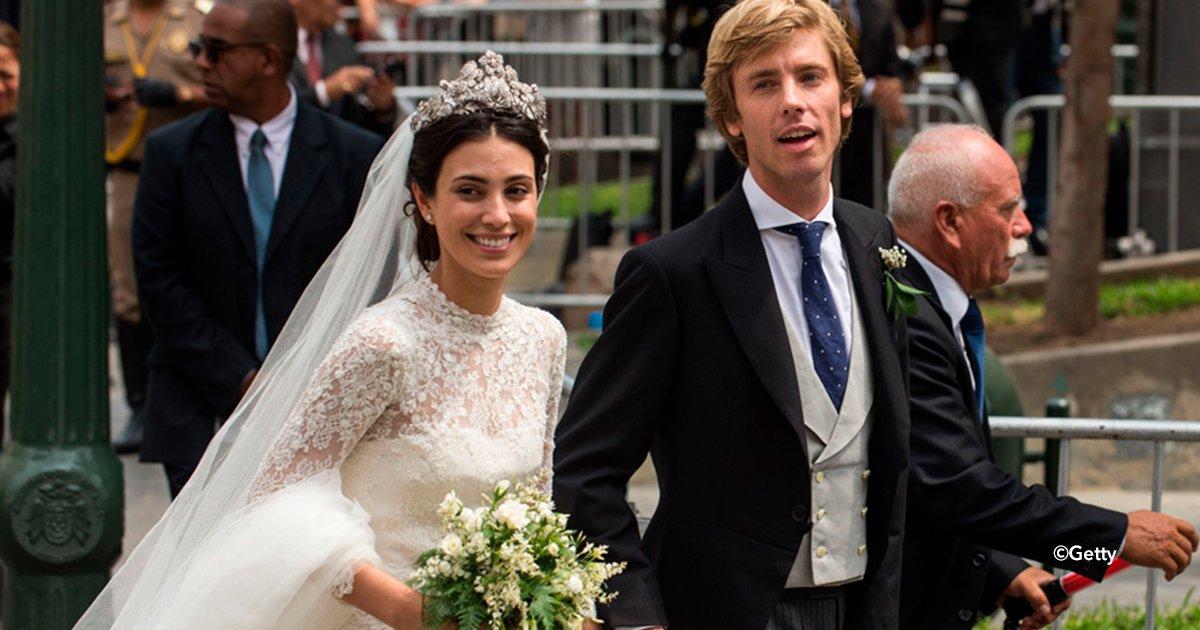 cover22boda - Una historia que parece sacada de un cuento de amor, la relación del príncipe Christian de Hannover y Alessandra de Osma