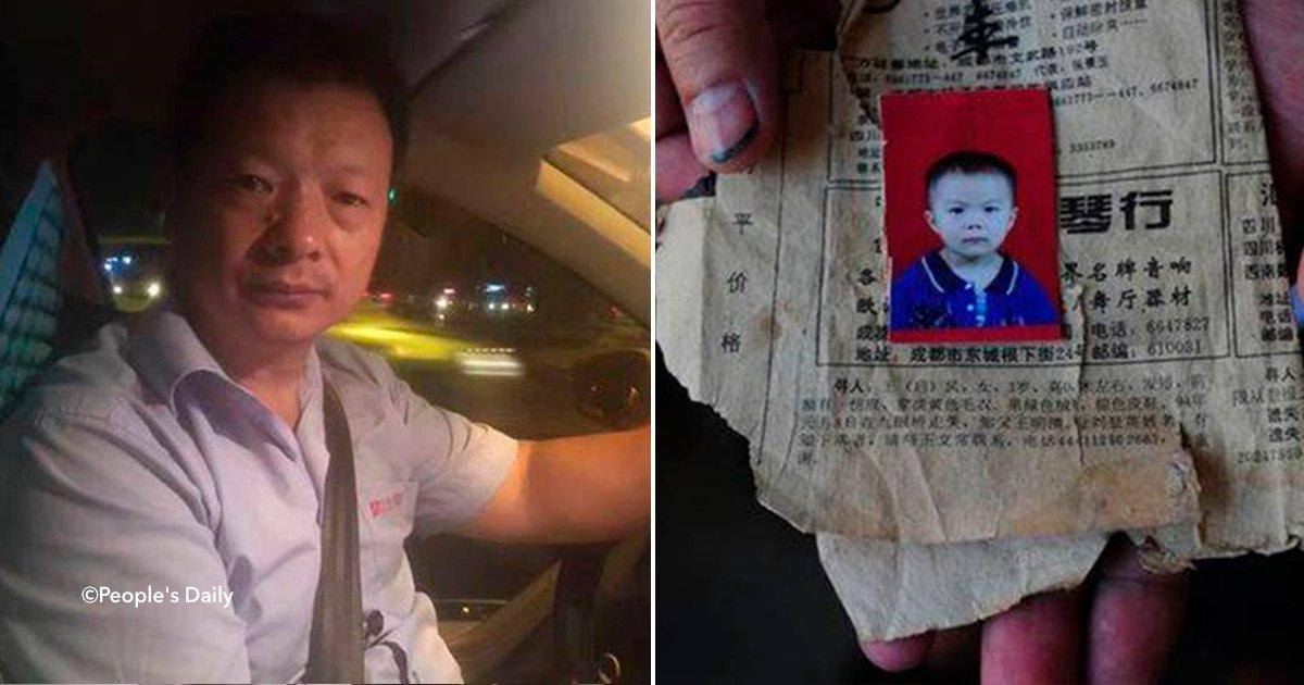 cover22chino - Un hombre logró encontrar a su hija luego de 24 años gracias a su taxi