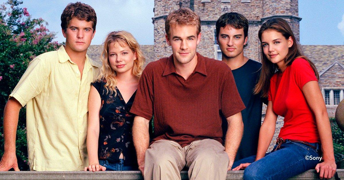 """cover22dawson - El elenco de la exitosa serie """"Dawson's Creek"""" se reúne y provoca furor entre sus seguidores"""