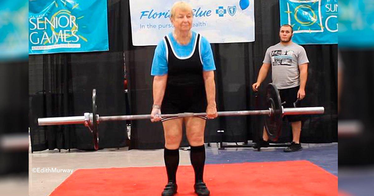 cover22elv.jpg?resize=648,365 - Aunque no lo creas, esta abuela fisicoculturista tiene 97 años y bate récords levantando pesas