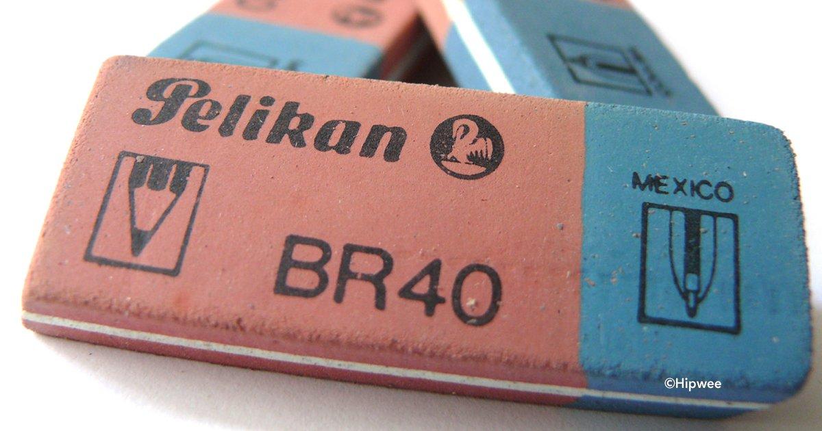 cover22gom 1 - ¿Pensabas que la parte azul de la goma era para borrar tinta de lapicera? Aquí te contaremos la verdad