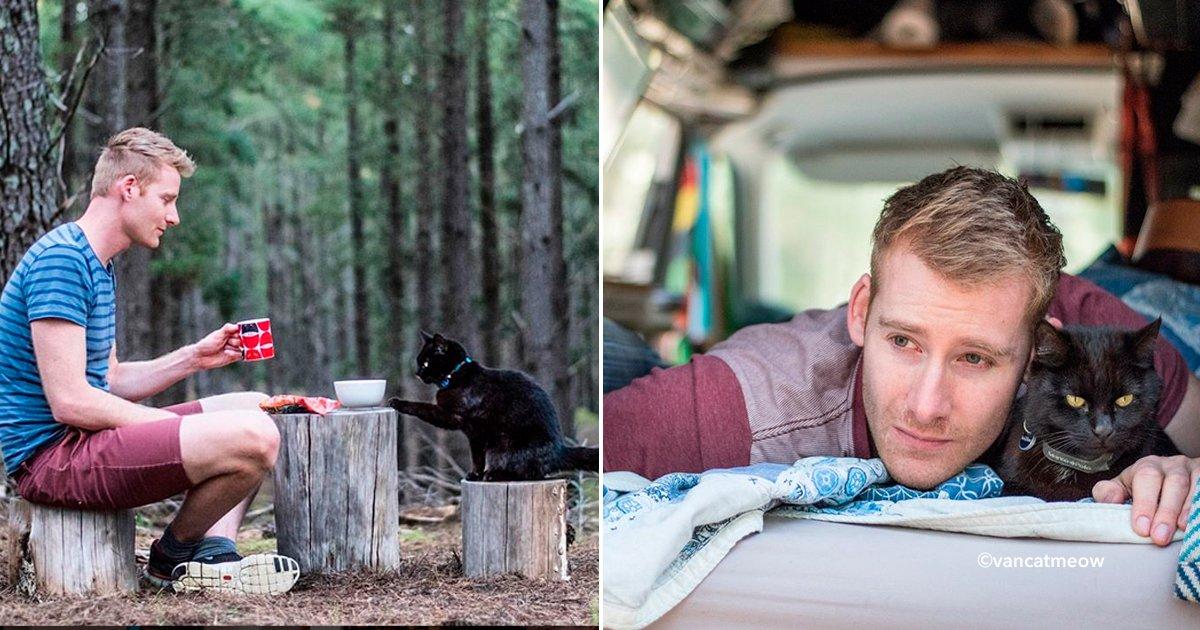 cover22gta - Renunció a su trabajo, vendió todo y se fue a viajar por Australia con su gato