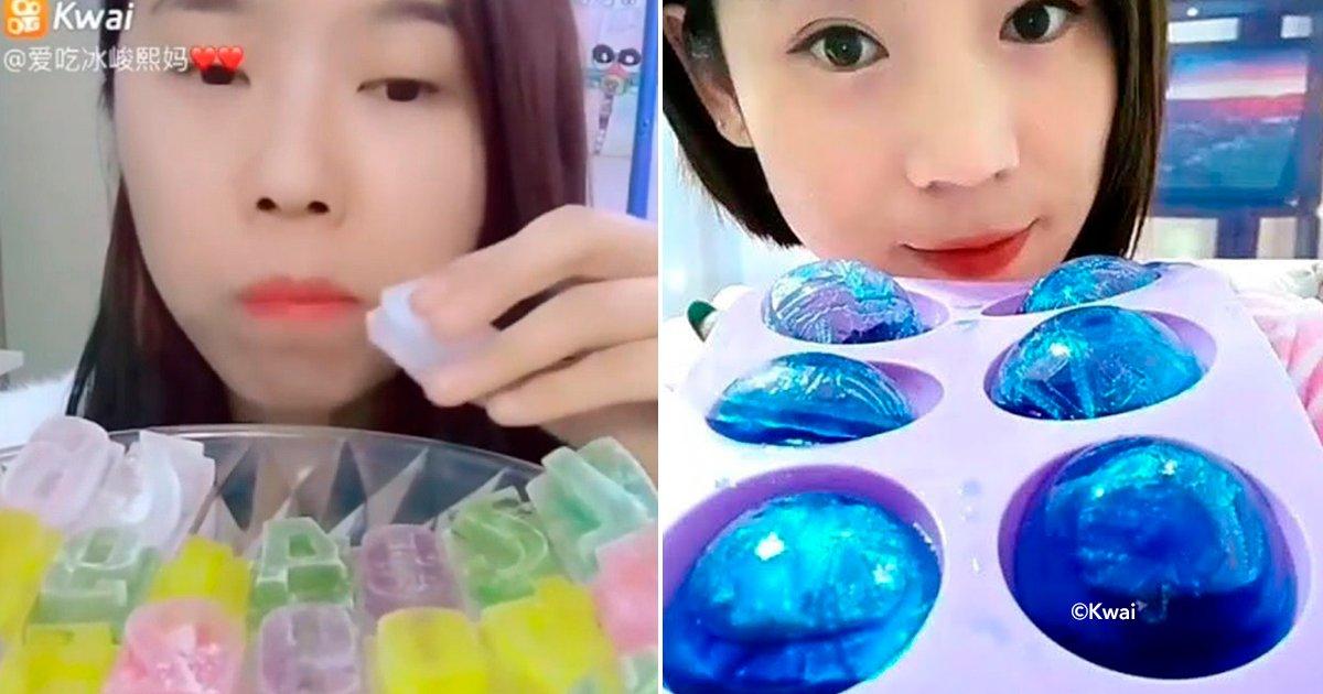 cover22hi - Comer hielo, la nueva tendencia china que ha generado polémica