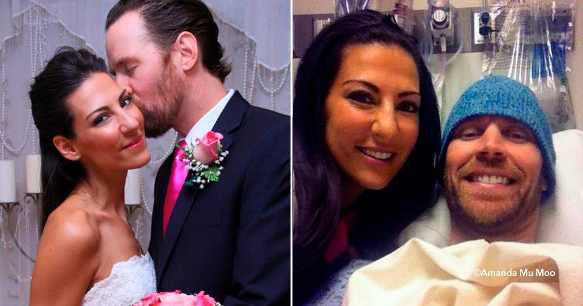 cover22maridocancer - A pesar que le diagnosticaron poco tiempo de vida decidieron casarse, después ocurrió un milagro
